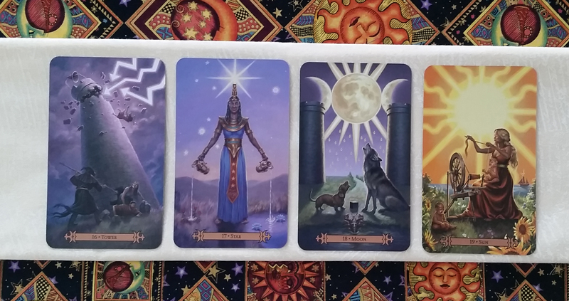 The Major Arcana- Modern SpellCaster's Tarot