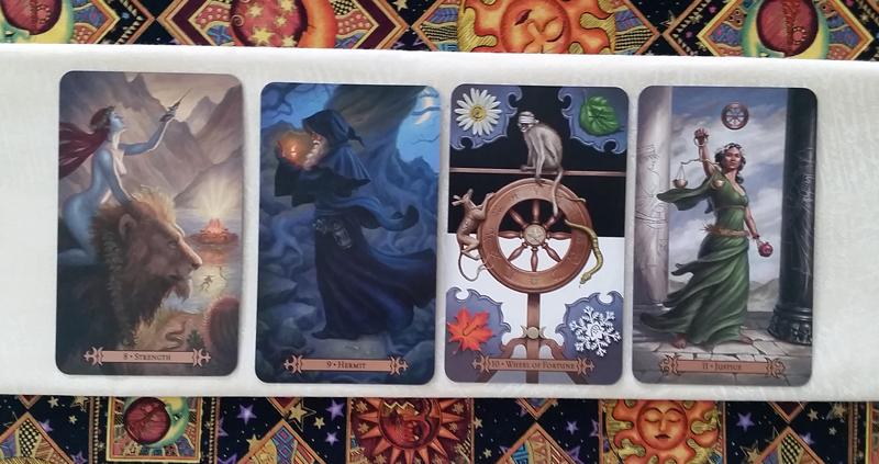 The Major Arcana- Modern SpellCaster's Tarot