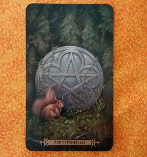 Ace of Pentacles: Modern SpellCaster's Tarot