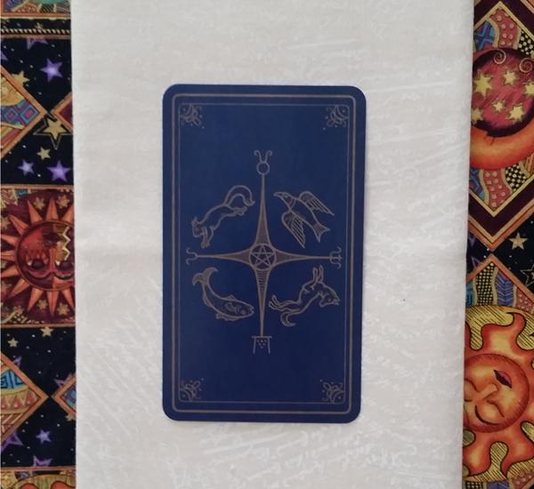 The Back of the Modern SpellCaster's Tarot