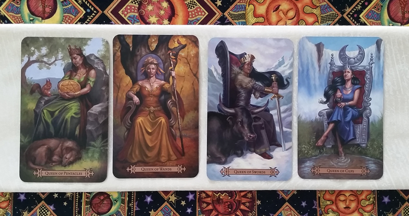The Queens of the Modern SpellCaster's Tarot