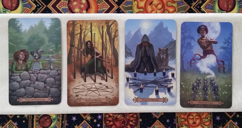 The Nines of the Modern SpellCaster's Tarot