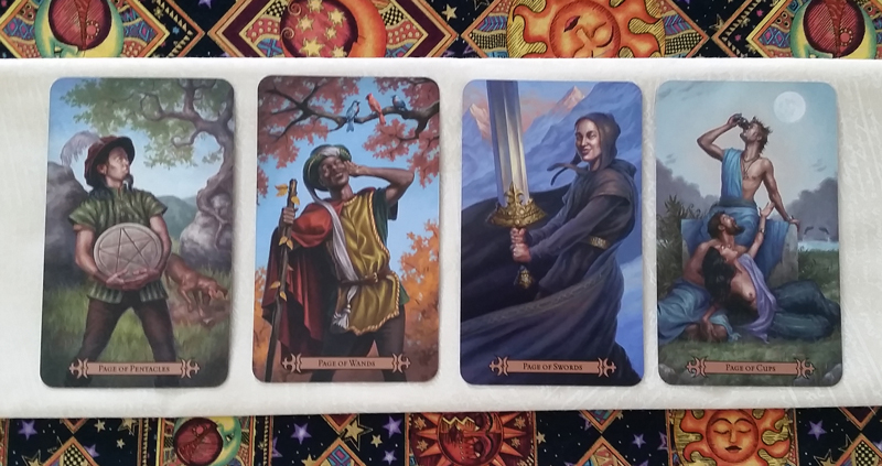 The Pages of the Modern SpellCaster's Tarot